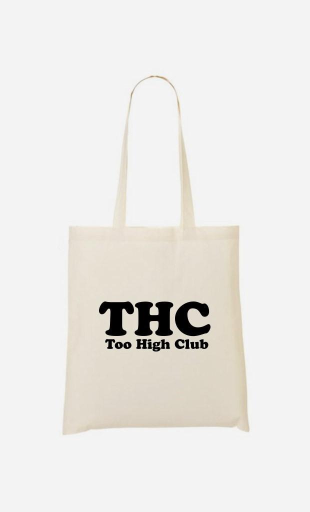 Tote Bag Too High Club