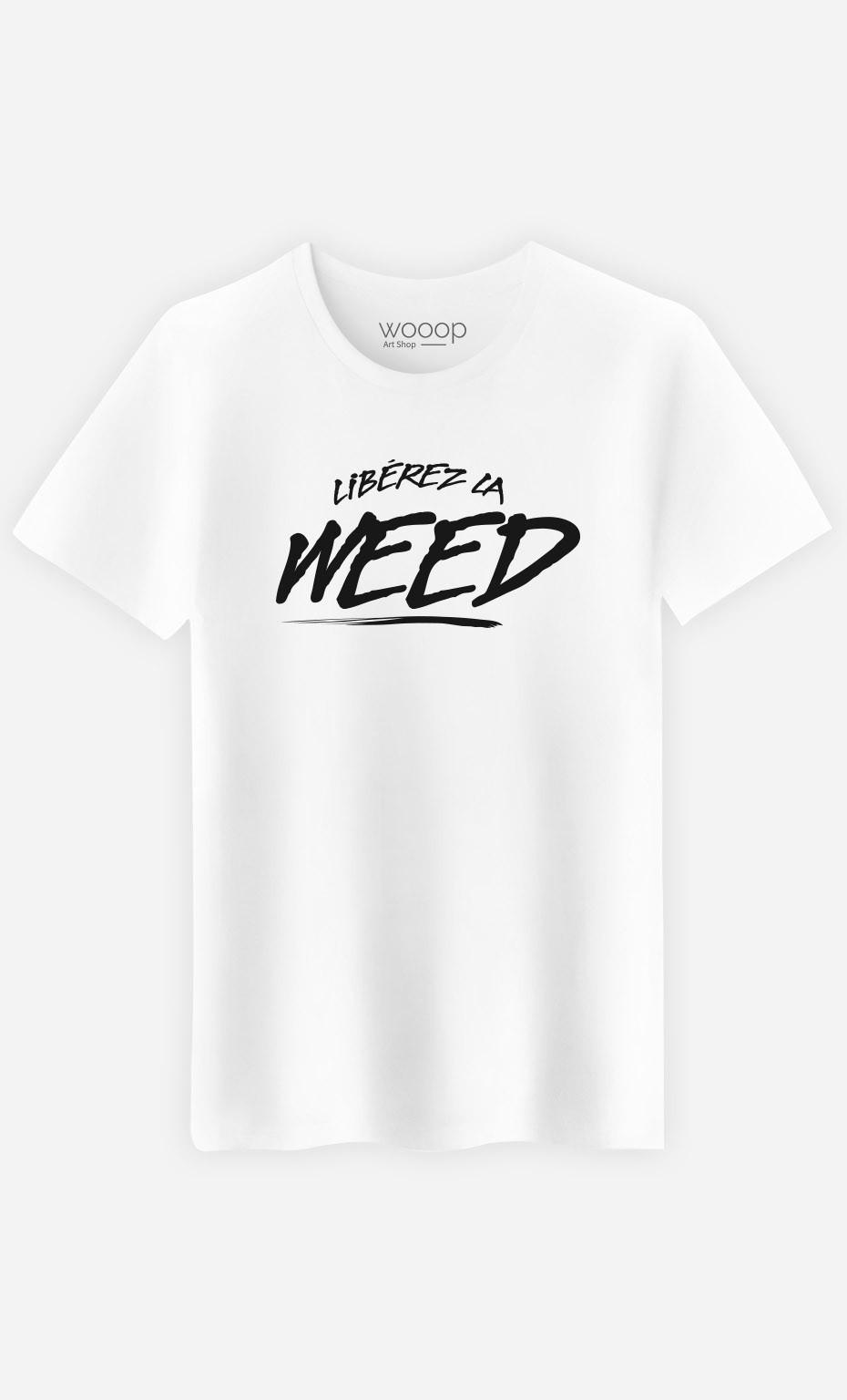 T-Shirt Libérez la Weed