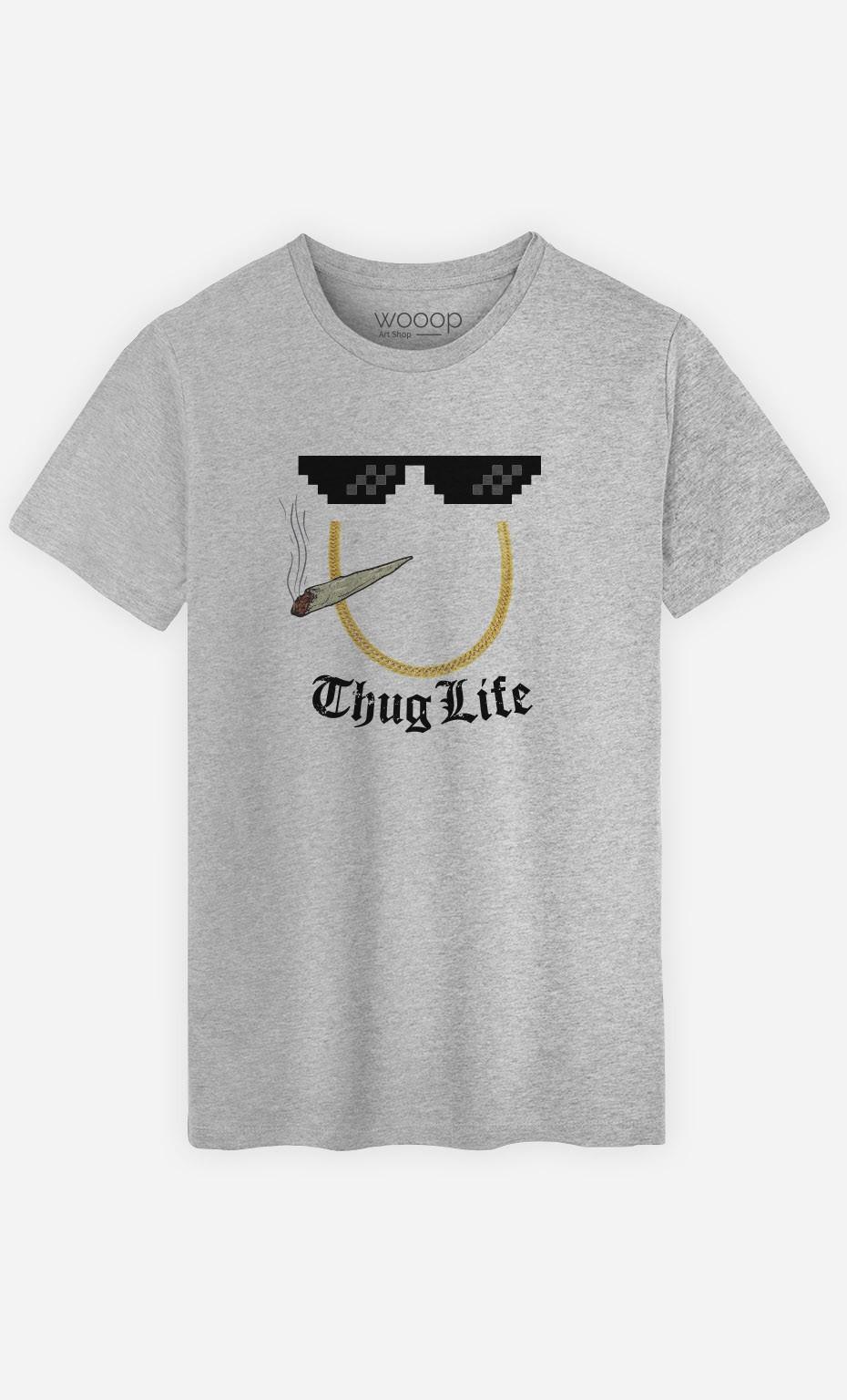 T-Shirt Smoke Thug Life