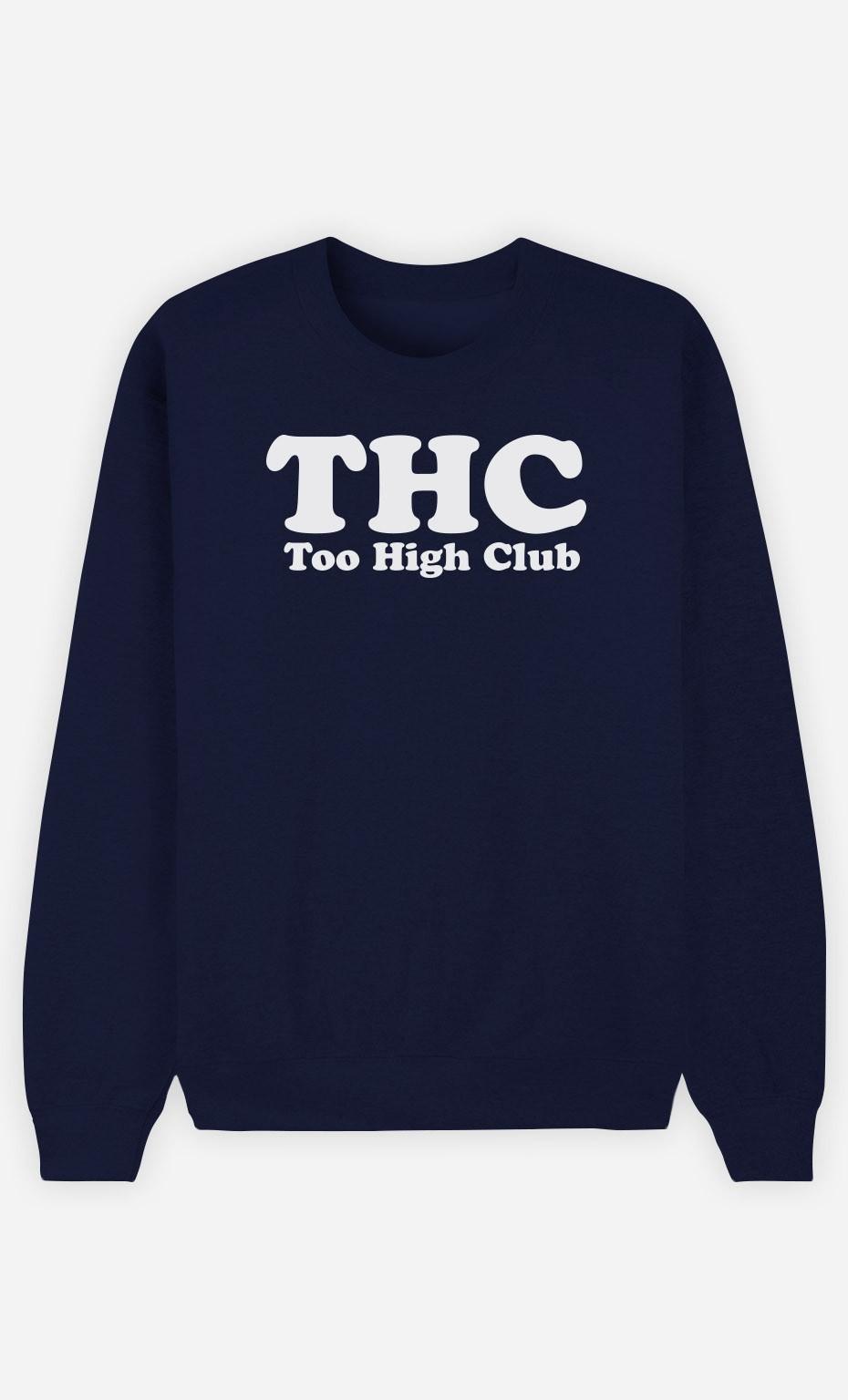 Sweat Bleu Too High Club