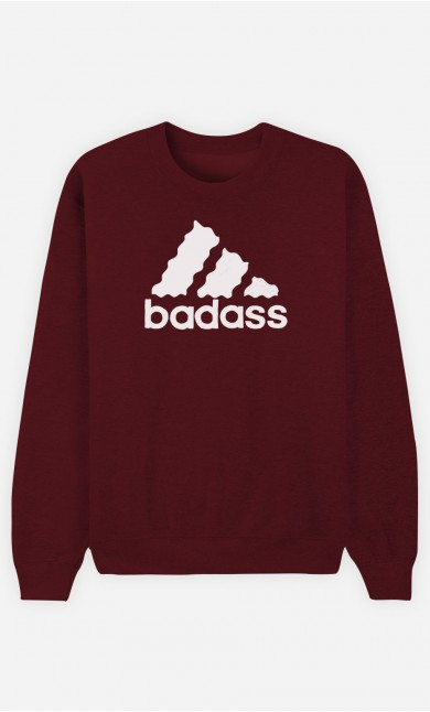 Sweat Bordeaux Badass