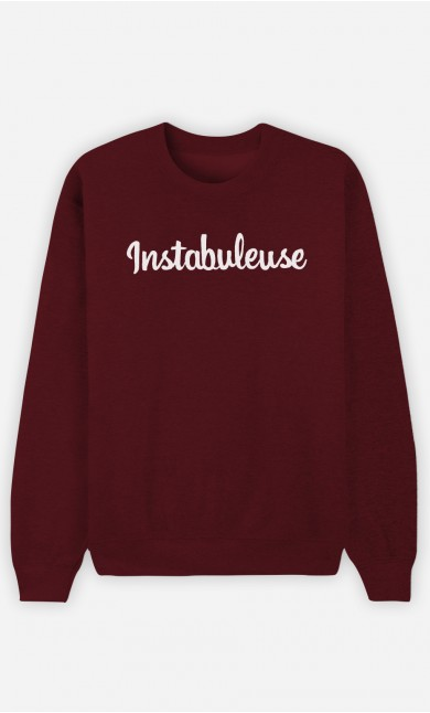 Sweat Bordeaux Instabuleuse