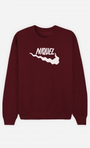 Sweat Bordeaux Niquel
