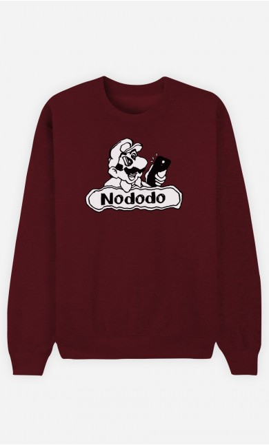 Sweat Bordeaux Nododo