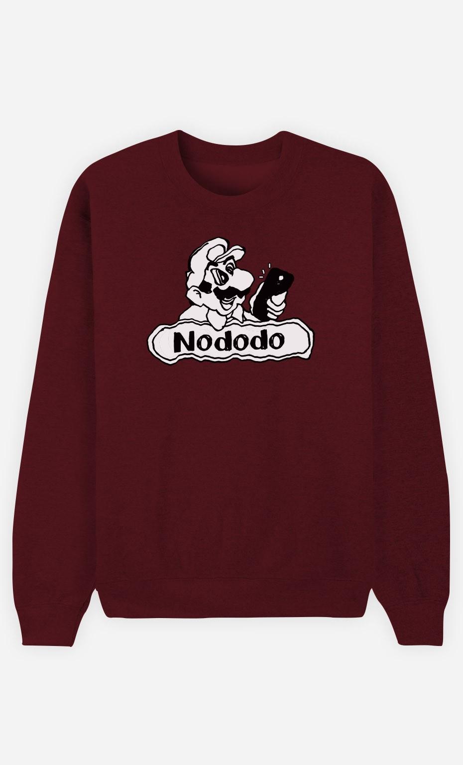 Sweat Bordeaux Nododo