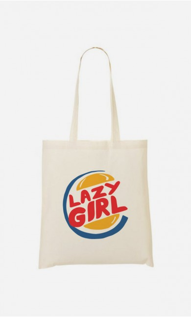 Tote Bag Lazy Girl
