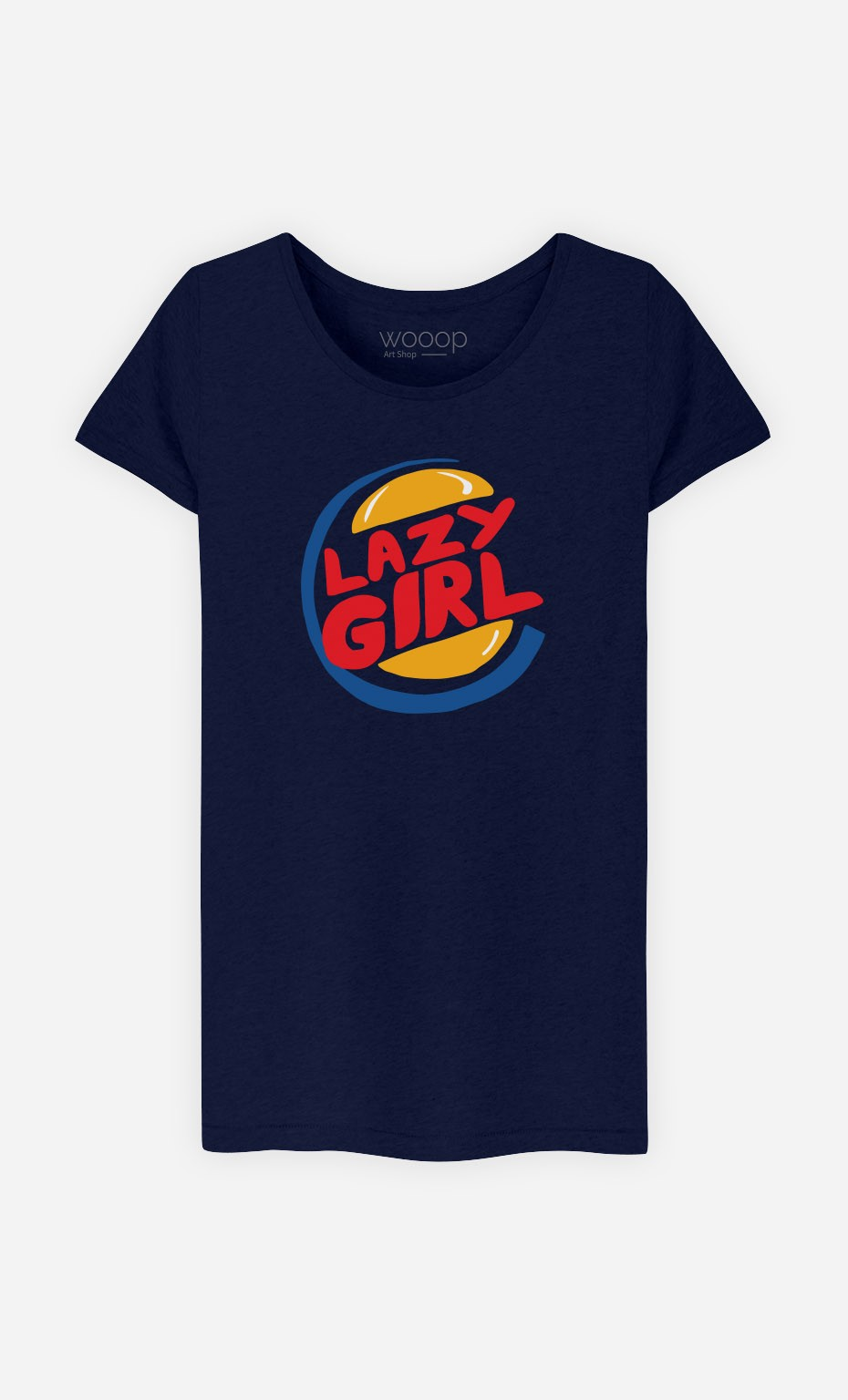 T-Shirt Lazy Girl