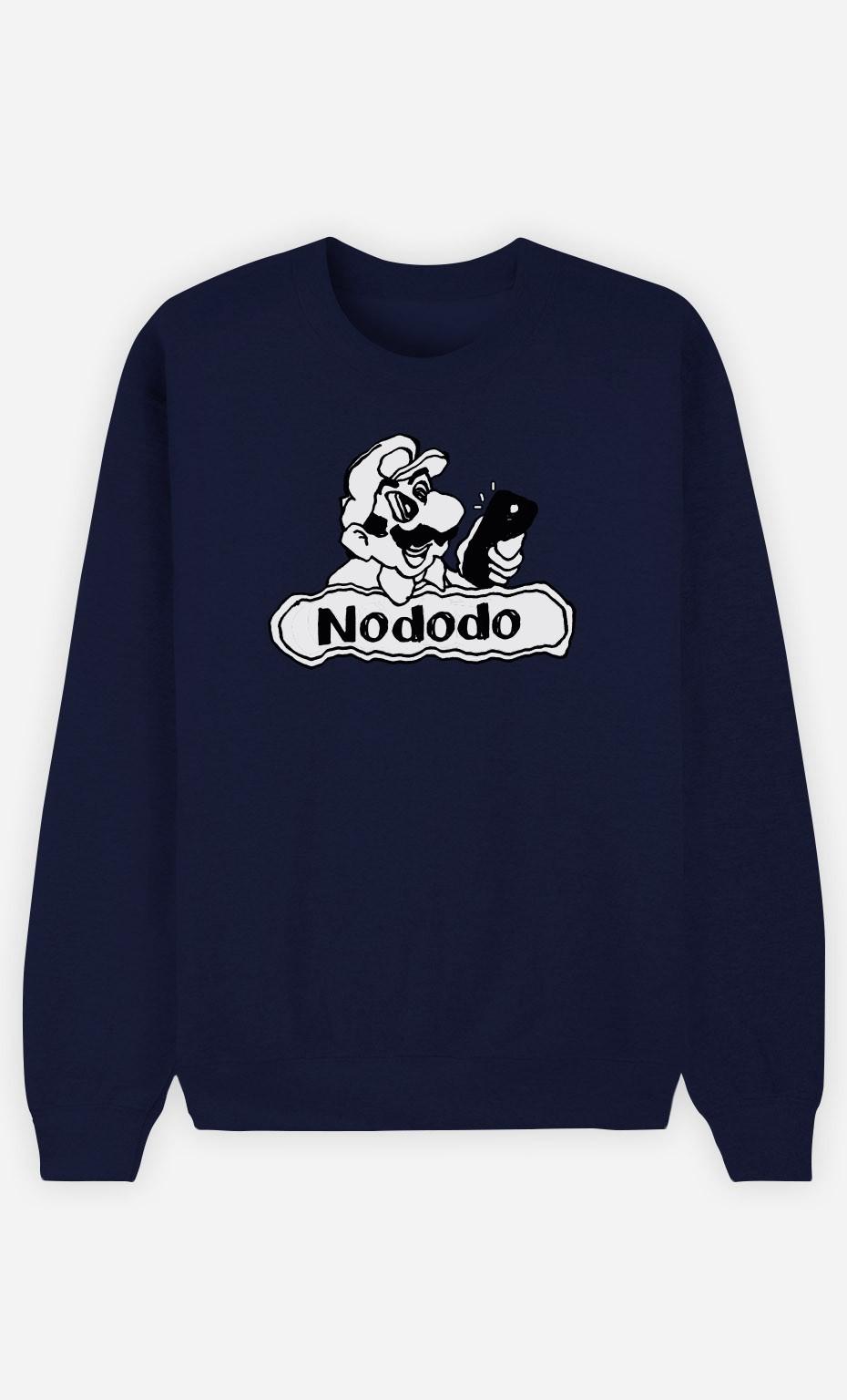 Sweat Bleu Nododo