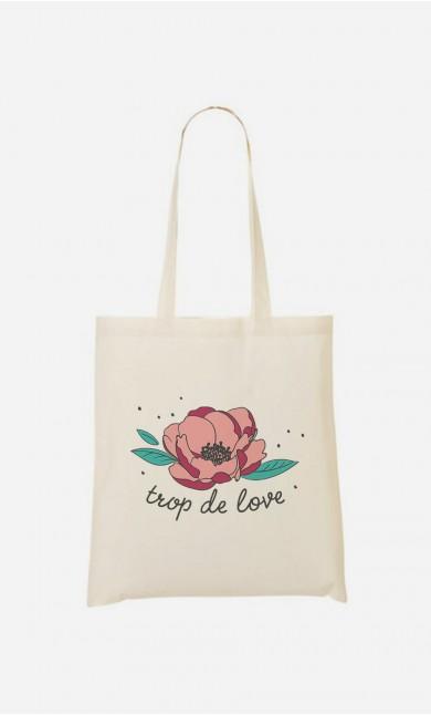 Tote Bag Trop de Love