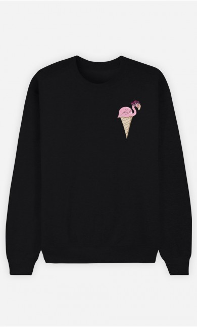 Sweat Flamant Glace
