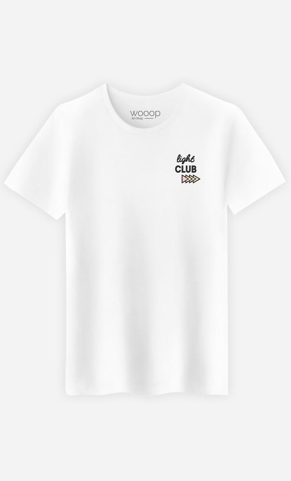 T-Shirt Light Club - brodé