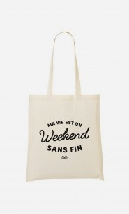 Tote Bag Un Weekend Sans Fin