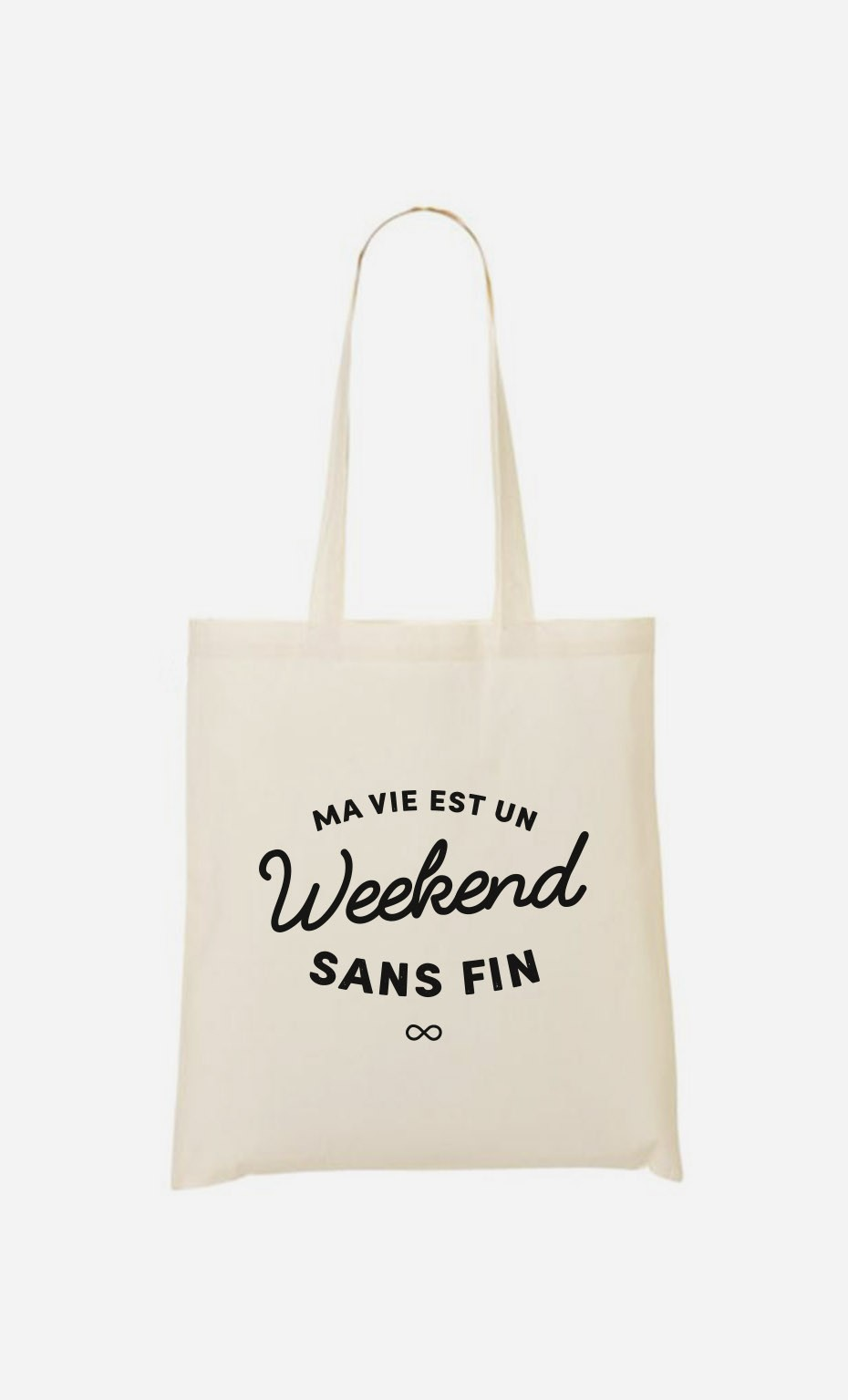 Tote Bag Un Weekend Sans Fin