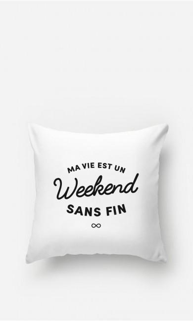 Coussin Un Weekend Sans Fin