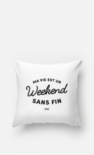 Coussin Un Weekend Sans Fin