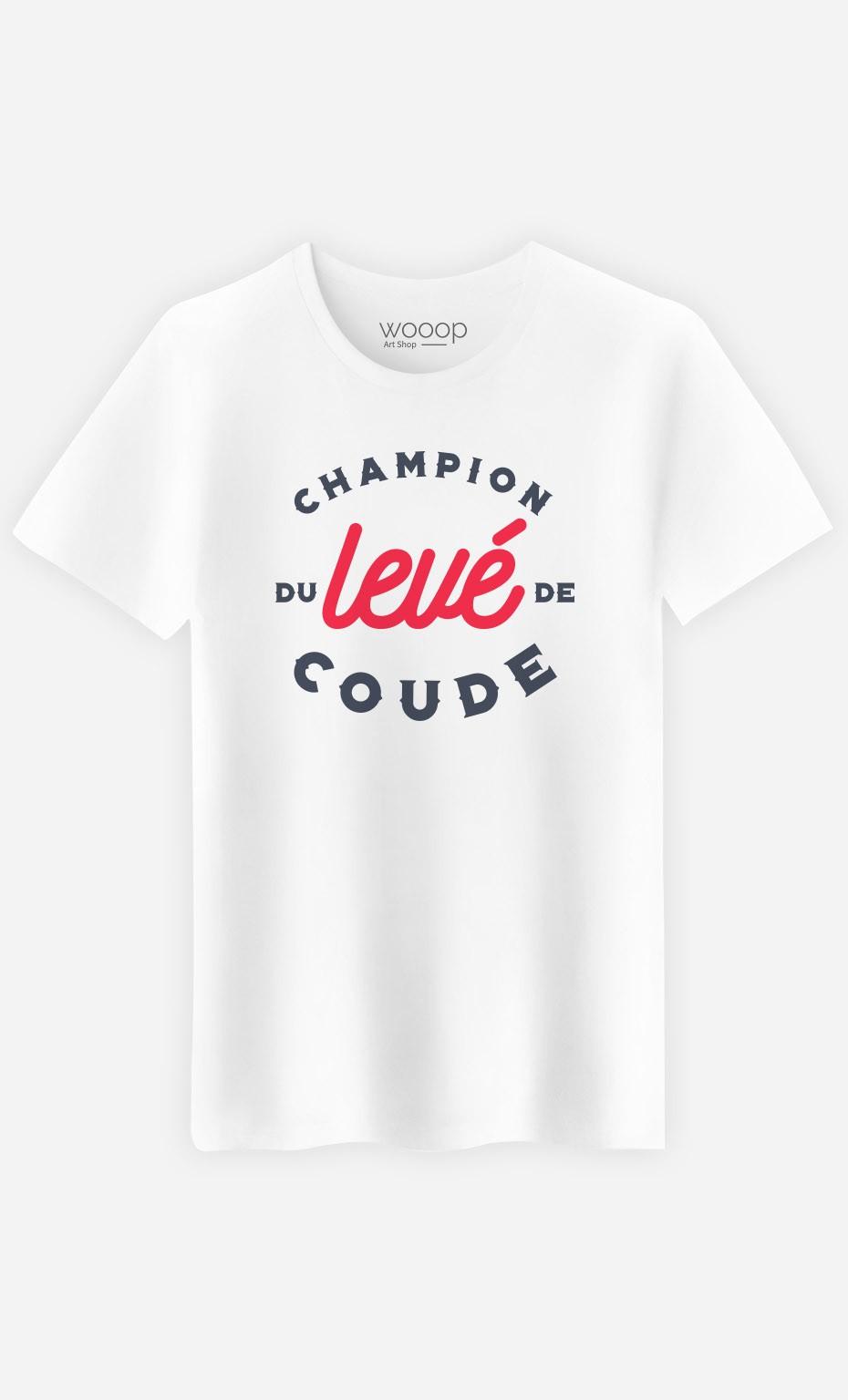 T-Shirt Champion Levé de Coude