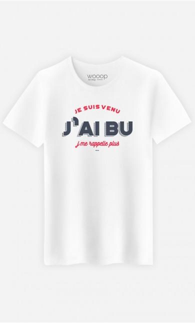 T-Shirt J'me Rappelle Plus