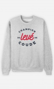 Sweat Champion Levé de Coude