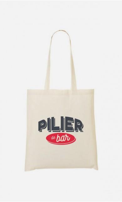 Tote-Bag Pilier de Bar