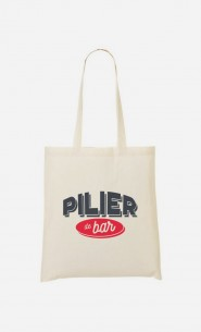 Tote-Bag Pilier de Bar