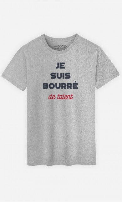 T-Shirt Bourré de Talent