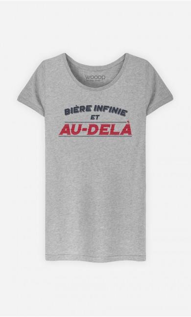 T-Shirt Bière Infinie et Au-Delà