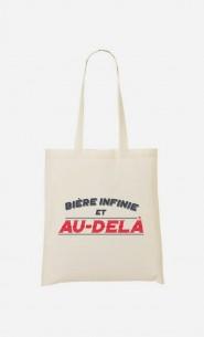 Tote-Bag Bière Infinie et Au-Delà