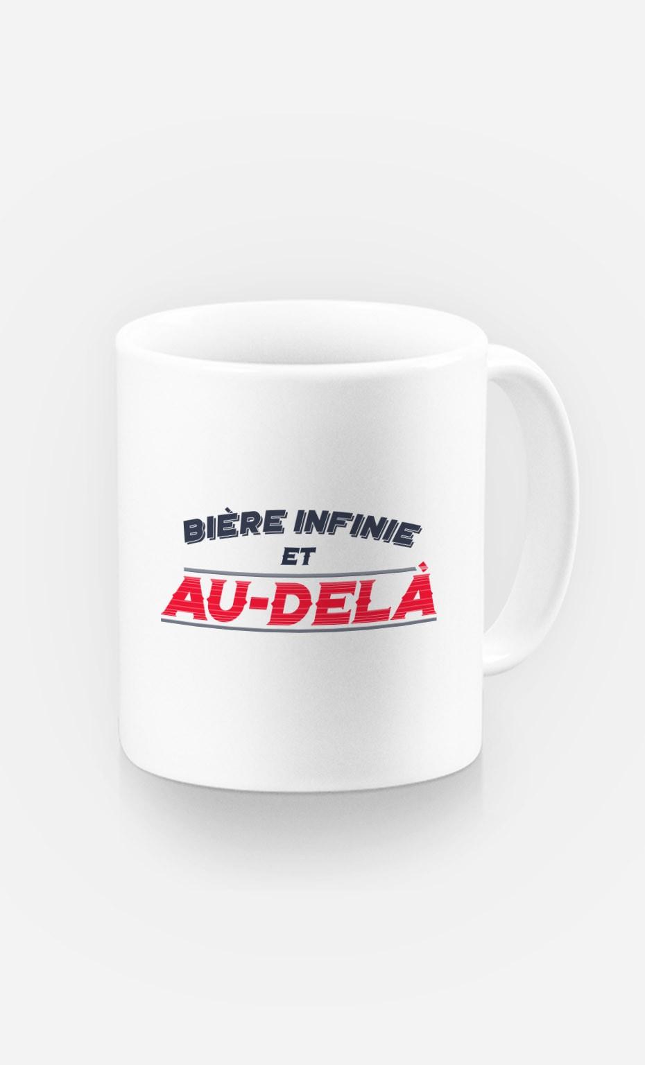 Mug Bière Infinie et Au-Delà