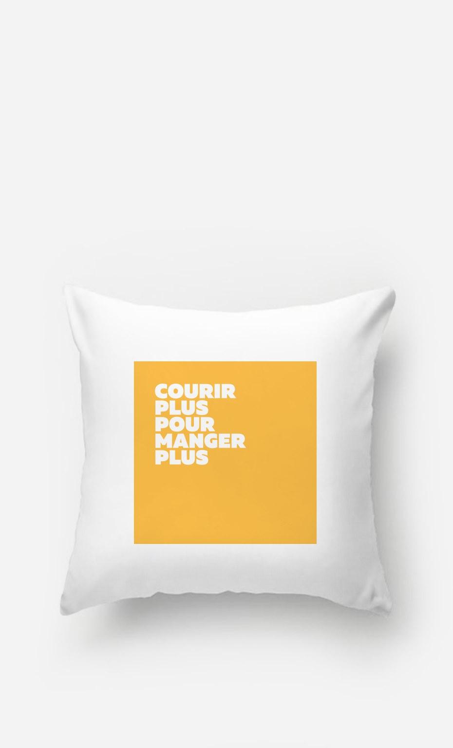Coussin Courir Plus Manger Plus