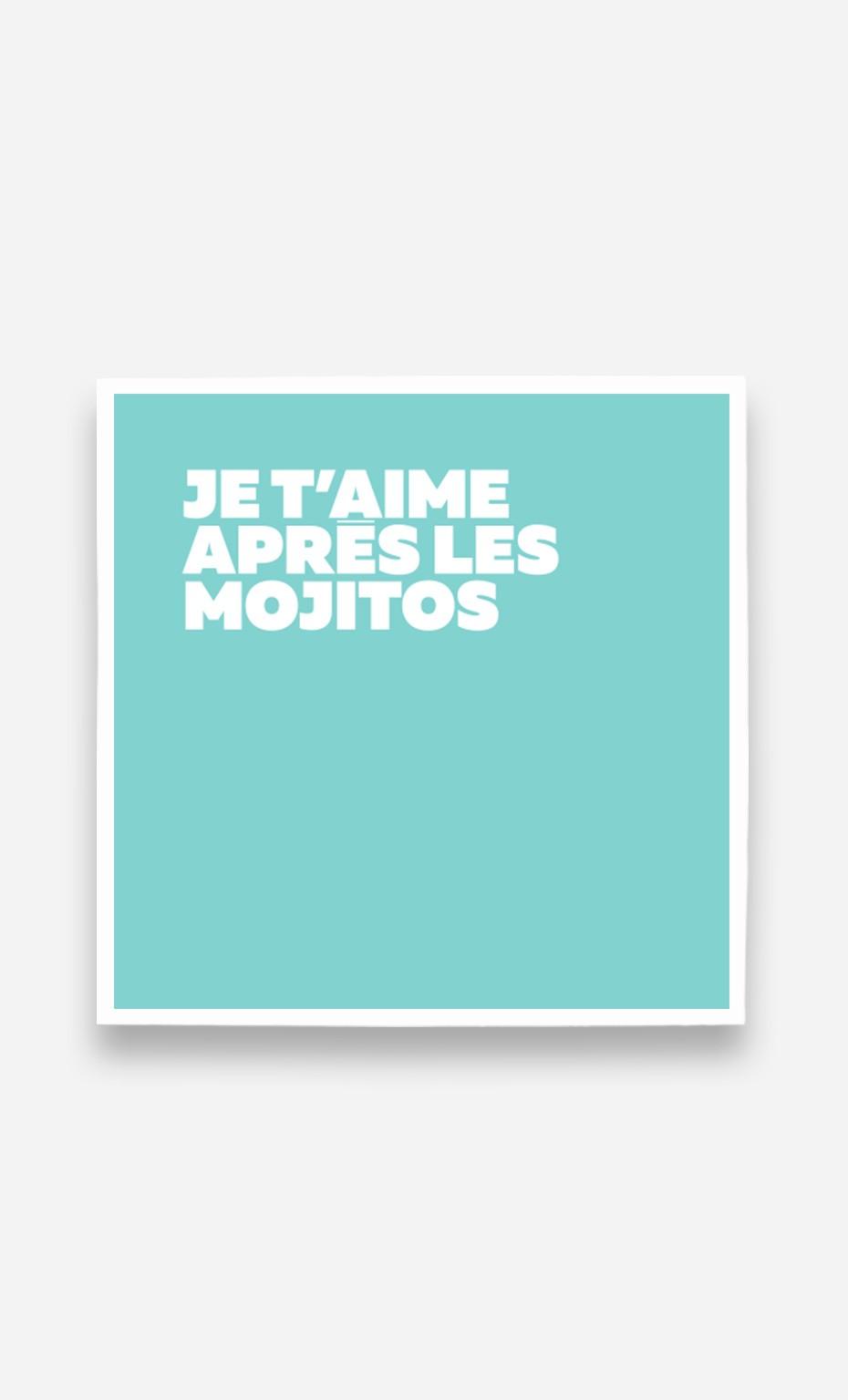 Poster Après les Mojitos