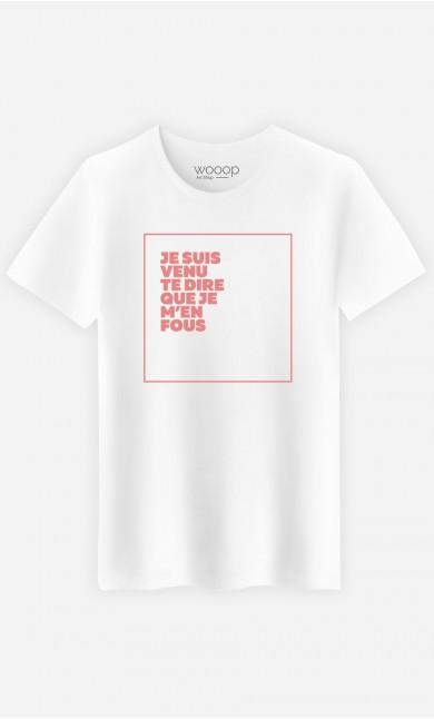 T-Shirt Je M'en Fous