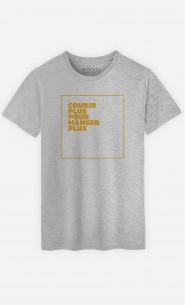 T-Shirt Courir Plus Manger Plus