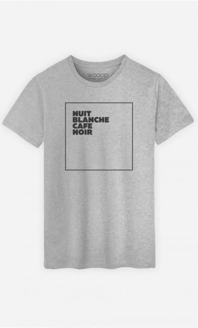 T-Shirt Nuit Blanche Café Noir