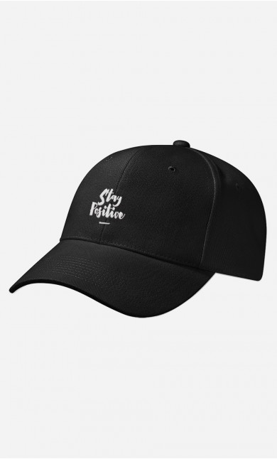 Casquette Stay Positive - brodé