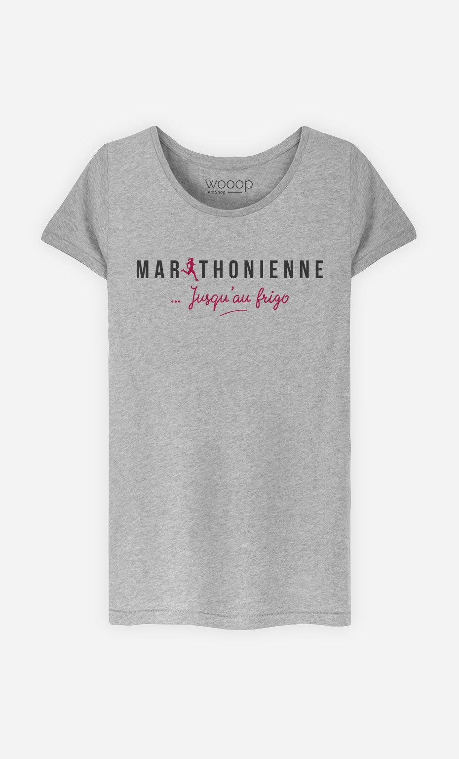 T-Shirt Marathonienne