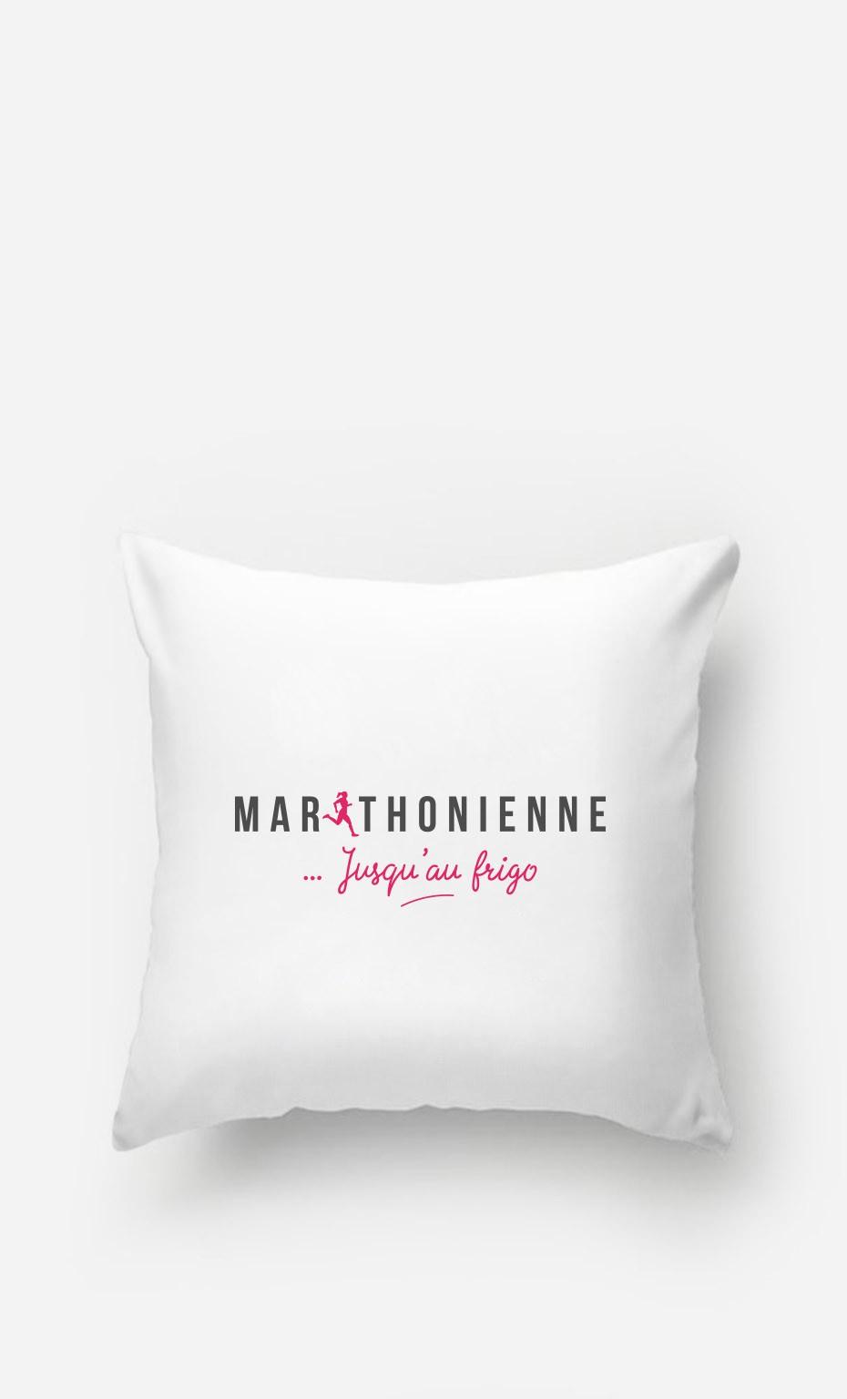 Coussin Marathonienne