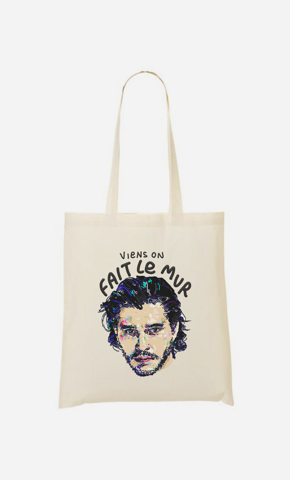 Tote Bag Viens on Fait le Mur