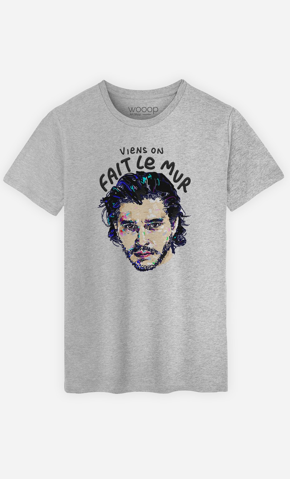 T-Shirt Viens on Fait le Mur