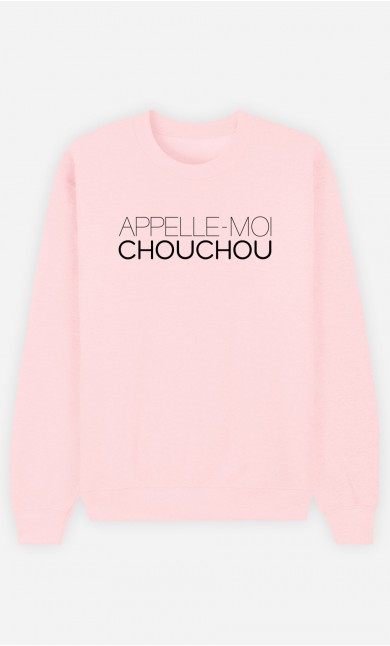 Sweat Rose Appelle-Moi Chouchou