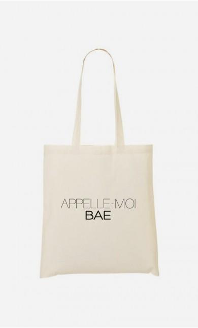 Tote Bag Appelle-Moi Bae