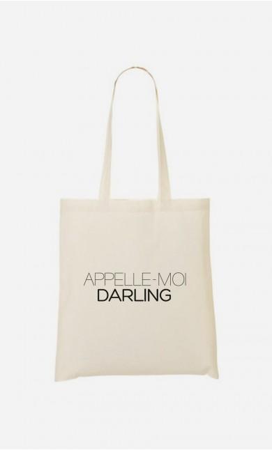 Tote Bag Appelle-Moi Darling