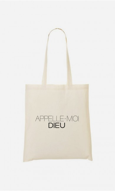 Tote Bag Appelle-Moi Dieu