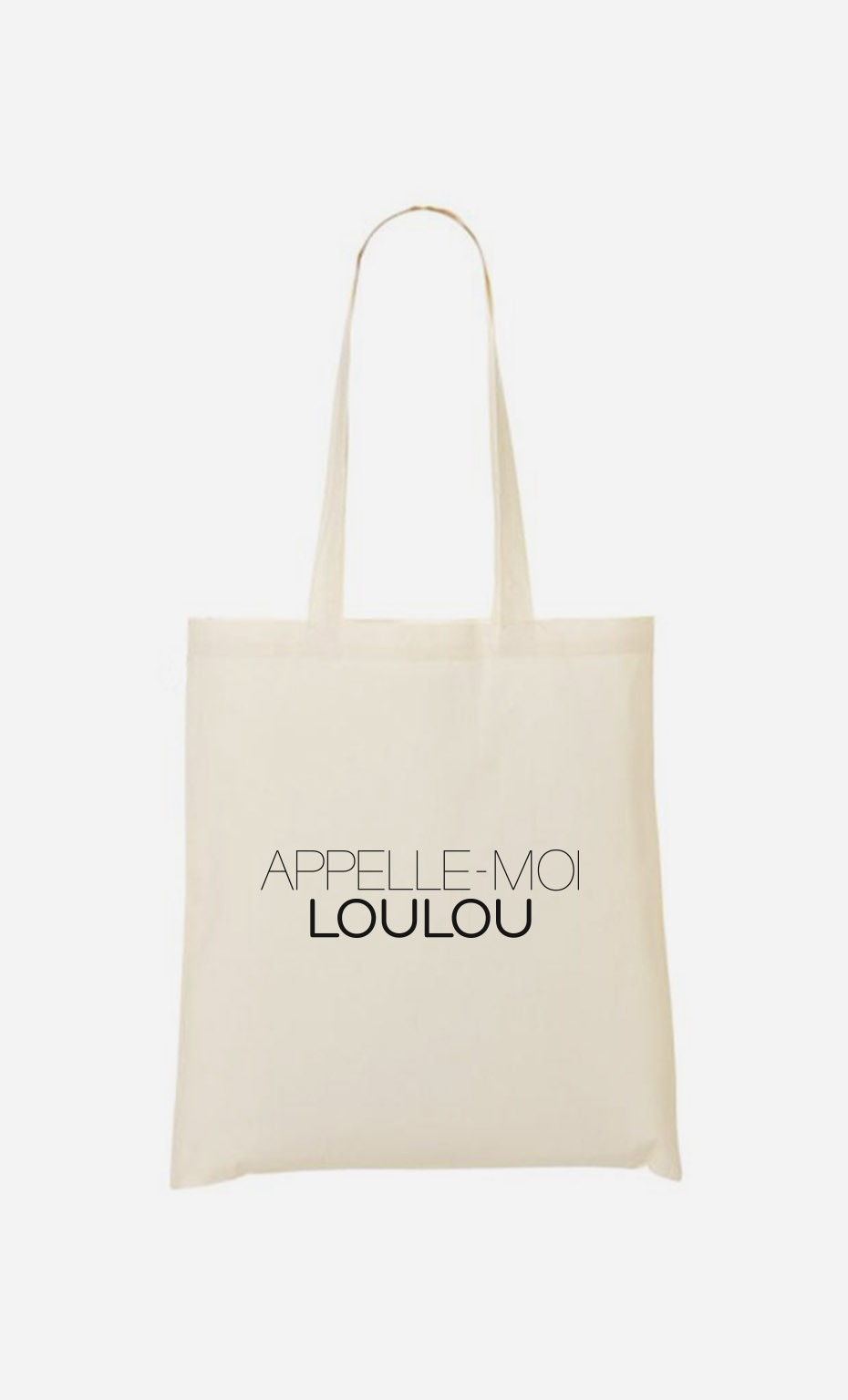 Tote Bag Appelle-Moi Loulou