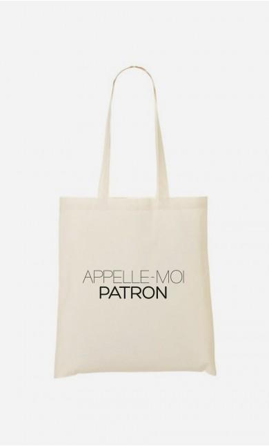 Tote Bag Appelle-Moi Patron