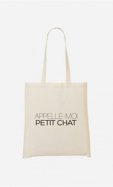 Tote Bag Appelle-Moi Petit Chat