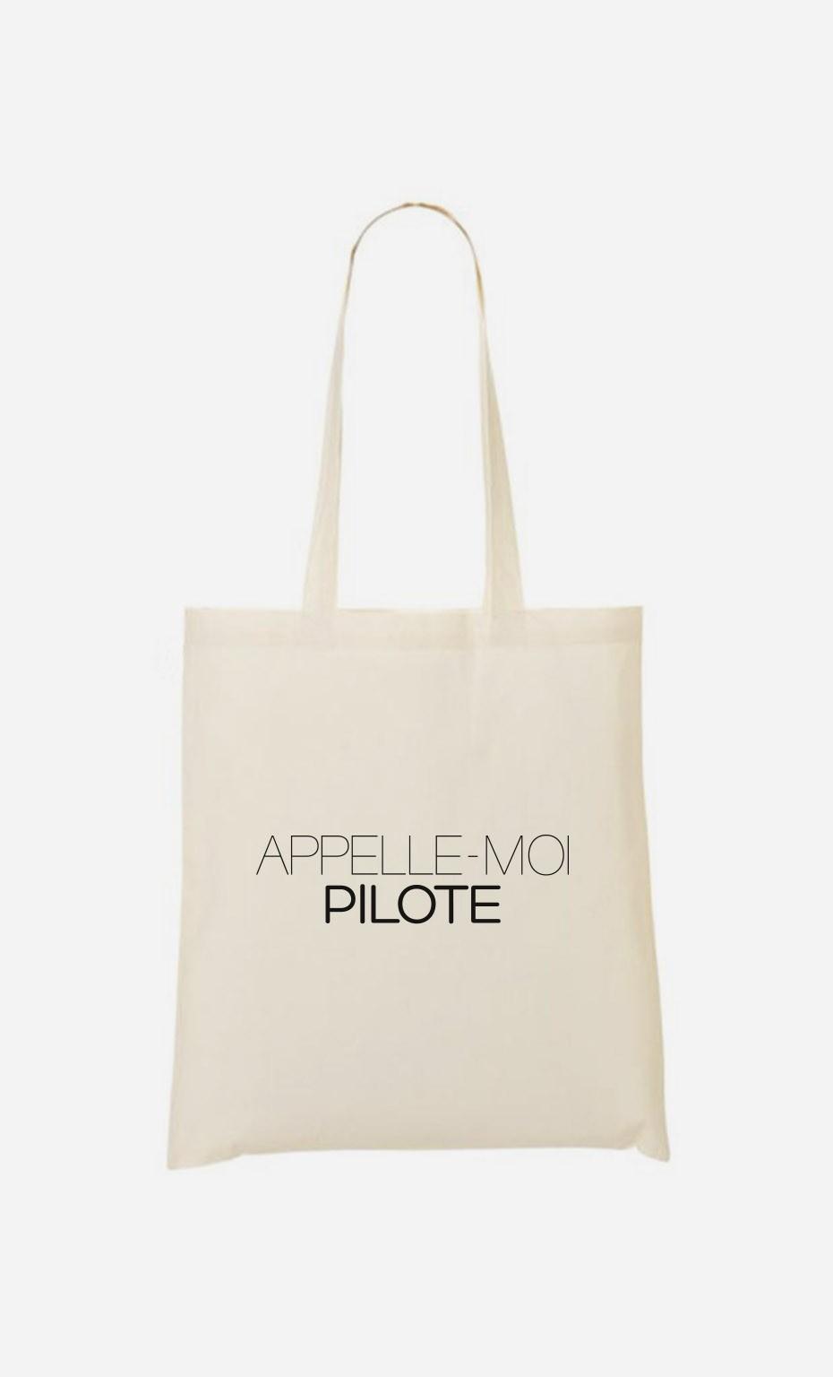 Tote Bag Appelle-Moi Pilote