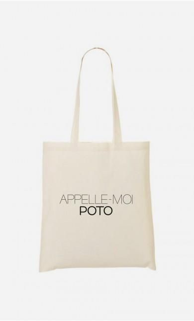Tote Bag Appelle-Moi Poto