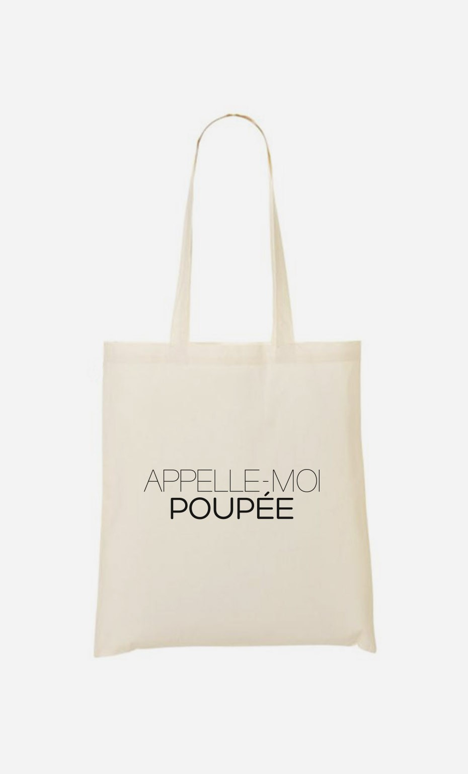 Tote Bag Appelle-Moi Poupée