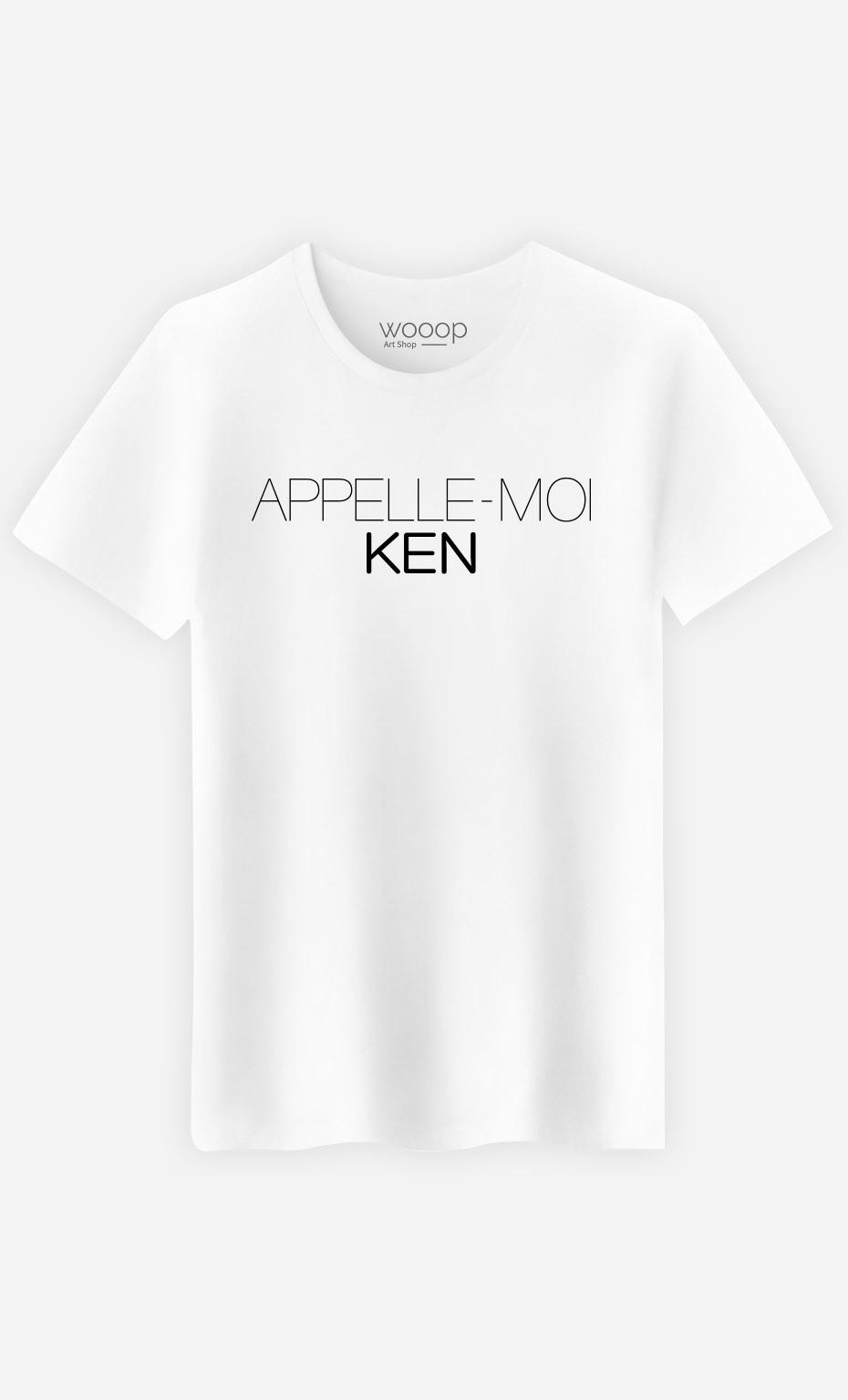 T-Shirt Appelle-Moi Ken