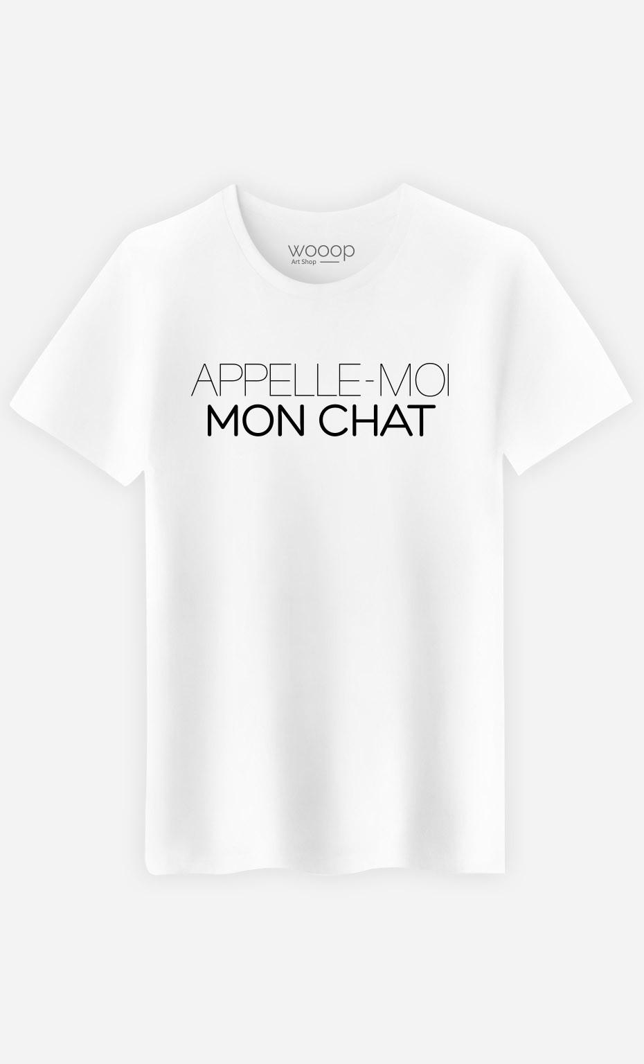 T-Shirt Appelle-Moi Mon Chat